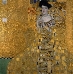 04 Mar 2014 --- Portrait of Adele Bloch-Bauer (c.1881-1925). Painting by Gustav Klimt (1862-1918), oil, silver and gold on canvas (140 x140 cm), 1907. Neue Galerie, New York, USA --- Image by © Leemage/Corbis
